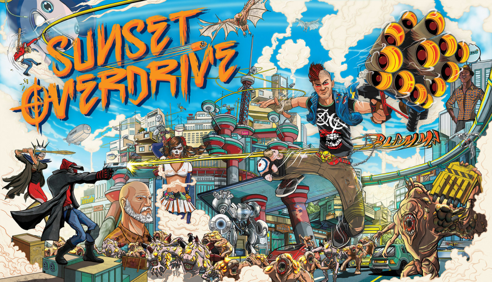 Sunset Overdrive trofei