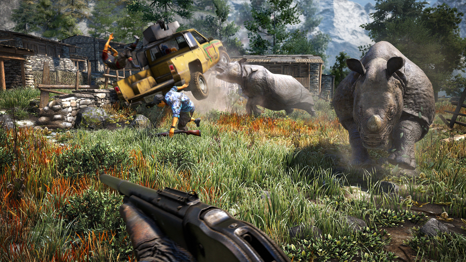 Far Cry 4 Rhino