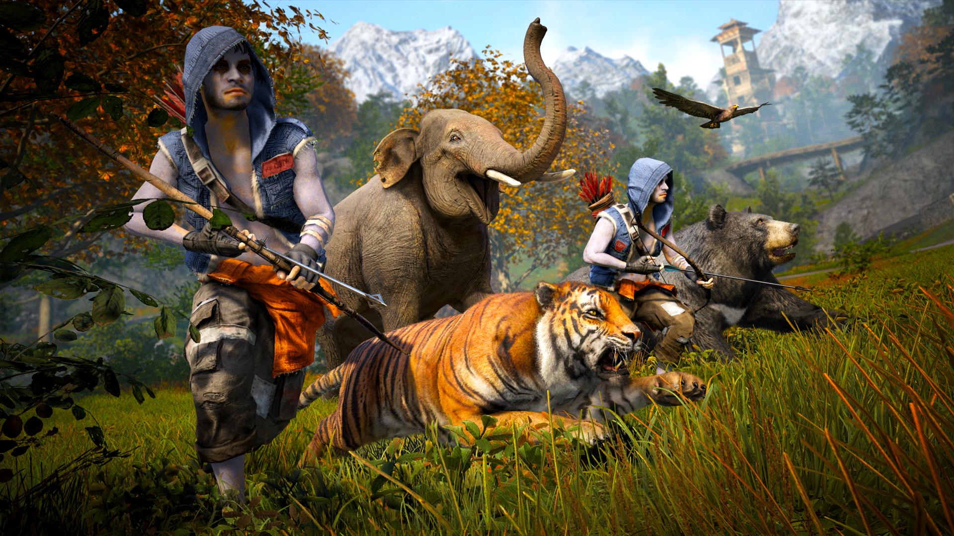 Far Cry 4 cacciatori