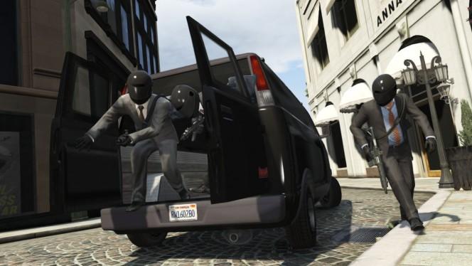 Grand Theft Auto V Rapine On-Line