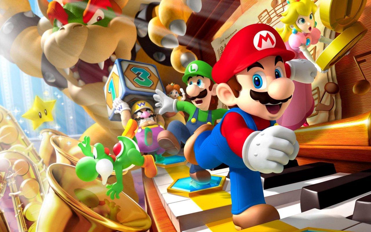 Mario Bros Art