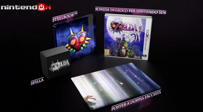 The Legend of Zelda Majora's Mask 3D.