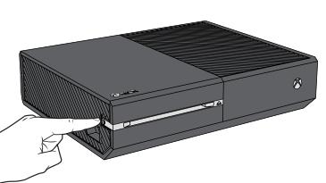 pulsante connessione console