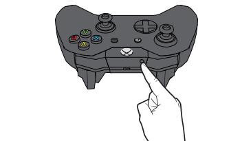 pulsante connessione controller