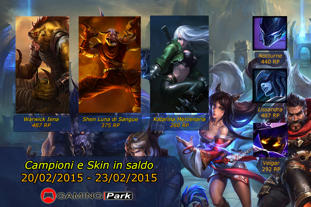 League of Legends Saldi 1