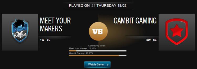 League of Legends MYM vs GMB