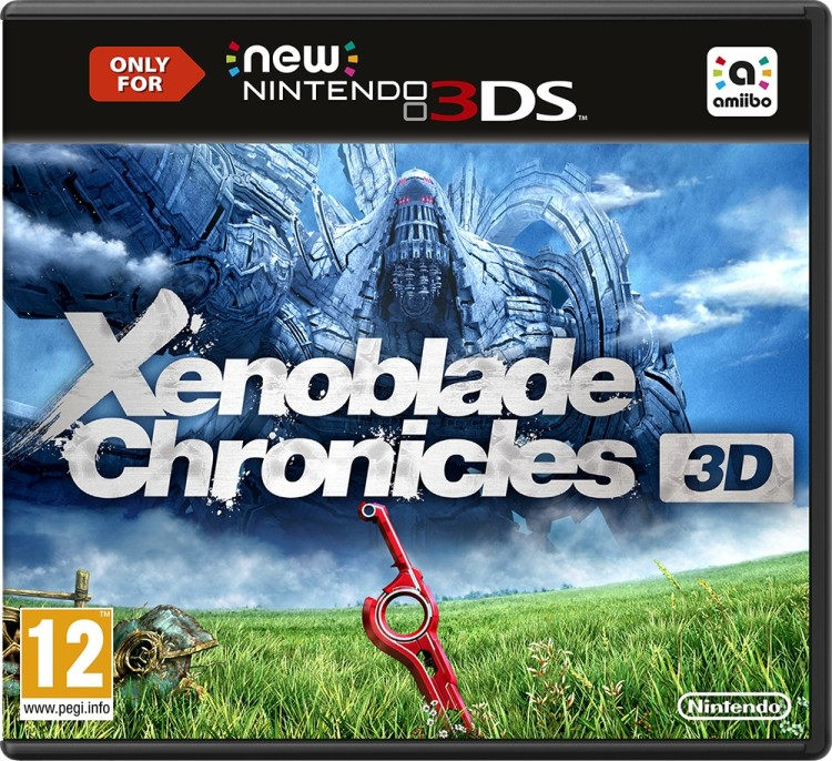 New Nintendo 3DS Xenoblade Chronicles 3D