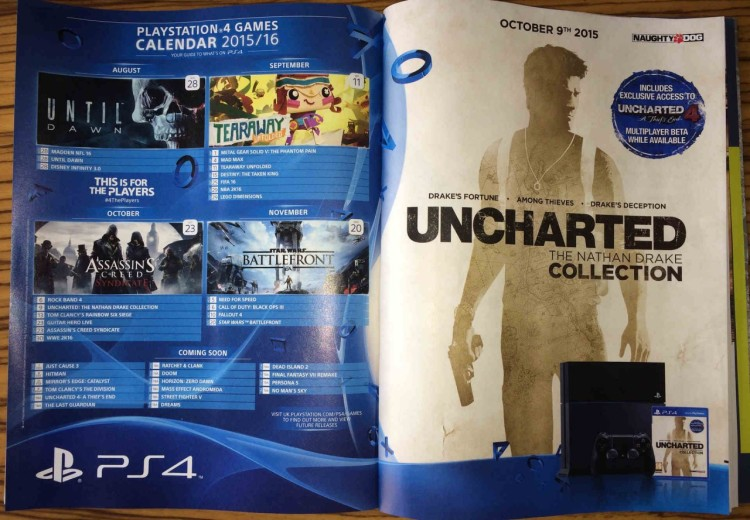 PlayStation 4 Sony Date
