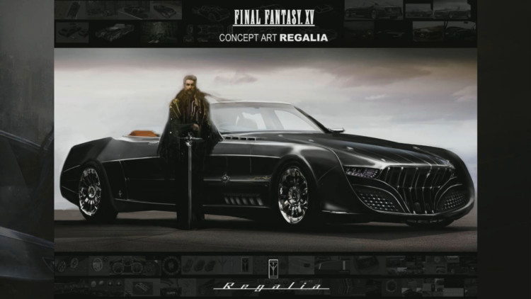 Final Fantasy XV Regalia