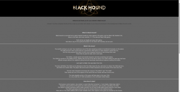 Black hound Website