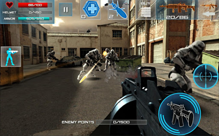 Enemy Strike 2 android gratis app