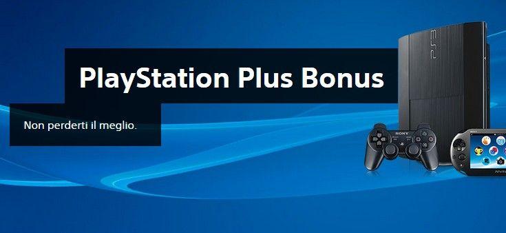 PS Plus Bonus