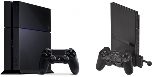 PlayStation 2 PlayStation 4