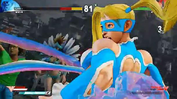 Street Fighter V Rainbow mika