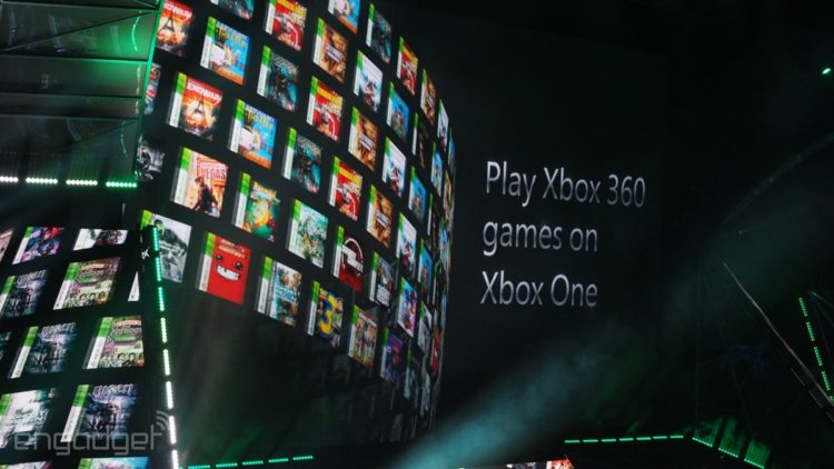 Xbox One Xbox 360 retrocompatibilità