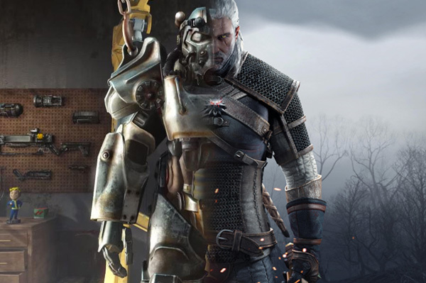 Fallout 4 The Witcher III