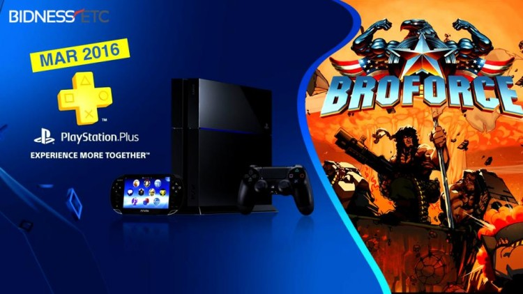 PlayStation Plus Marzo 2016