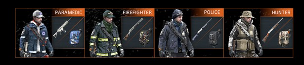 Tom Clancy's The Division Agent Origins skin
