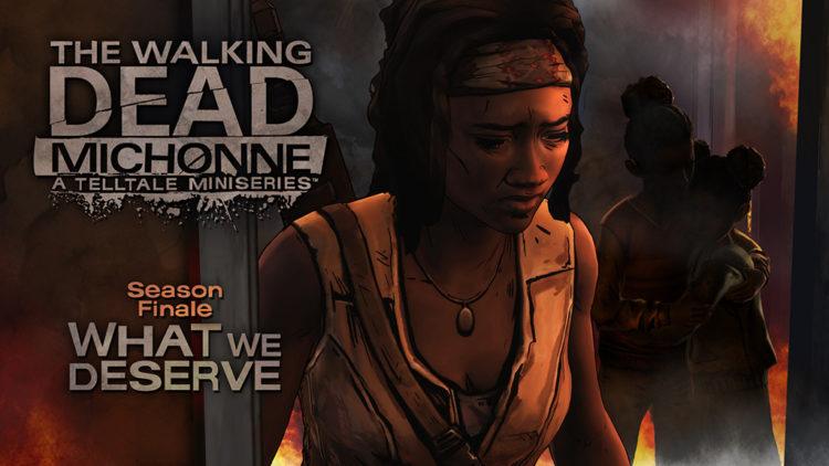 The Walking Dead Michonne Finale