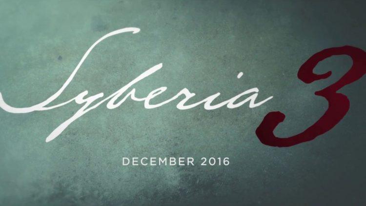 Syberia 3 Microïds