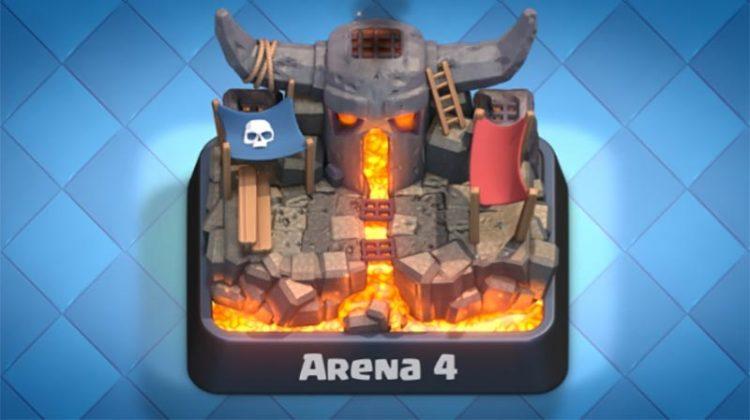 Deck Arena 4 Clash Royale