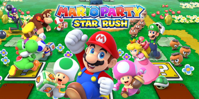 Super Mario Party Star Rush