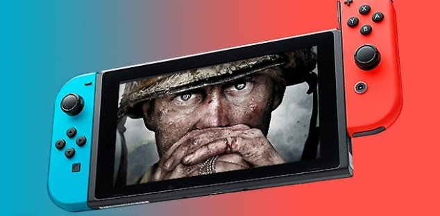 Call of Duty WWII Switch