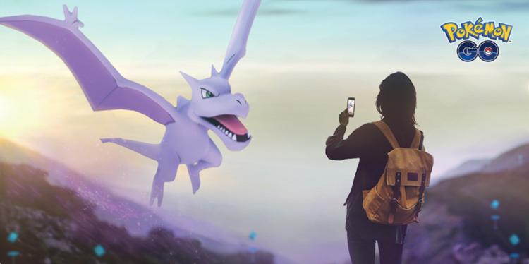 Pokémon GO Aerodactyl