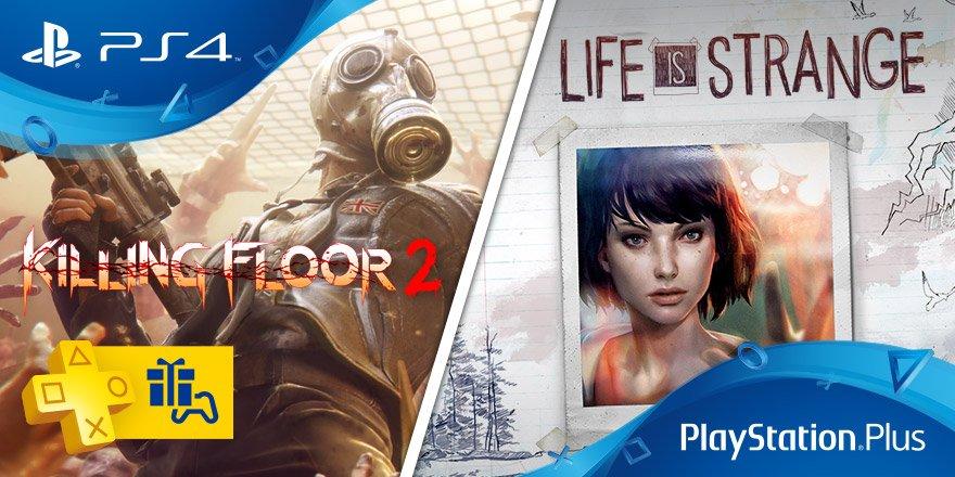 PlayStation Plus Life is Strange, Killing Floor 2 giugno 2017
