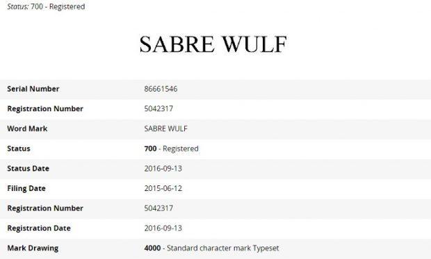 Microsoft  SABRE WULF