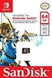 SanDisk Scheda di Memoria MicroSDXC per Nintendo Switch da 64GB, Licenza Ufficiale Nintendo, Velocità di lettura fino a 100 MB/sec