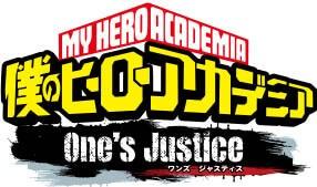 My Hero Academia: One's Justice logo
