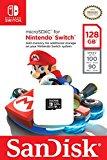 SanDisk Scheda di Memoria MicroSDXC per Nintendo Switch da 128GB, Licenza Ufficiale Nintendo, Velocità di lettura fino a 100 MB/sec
