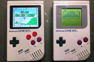 Game Boy Retroilluminato