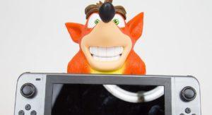 Tieni Al Sicuro La Tua Nintendo Switch Con Crash Bandicoot