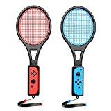 AUPALLA racchetta da tennis per joy-con per Mario Tennis Aces Nintendo Switch(2 pezzi)