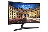 Samsung C24F396 Monitor Curvo, 24'' Full HD, Base a V, HDMI/D-Sub, 60 Hz, 4 ms, Freesync, Nero