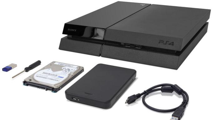 PlayStation 4 HDD