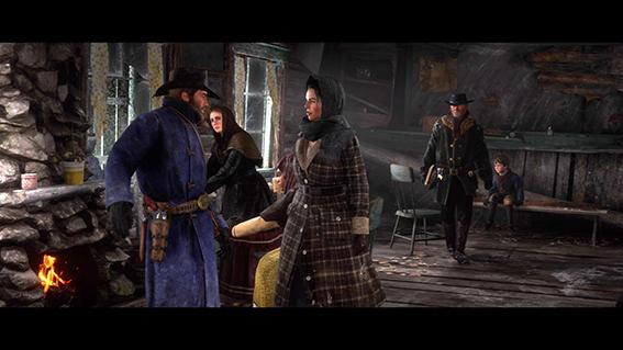 Red Dead Redemption 2 Banda